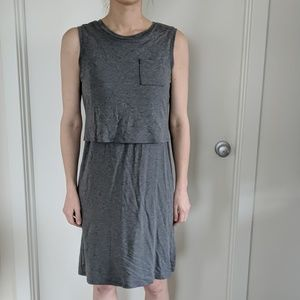 Maternity and nursing dress